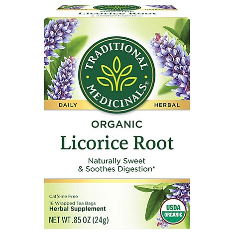 Trad Med Tea Licorice - 16 Count