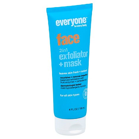 Everyone Exfoliator Mask Face 2in1 - 4 Oz