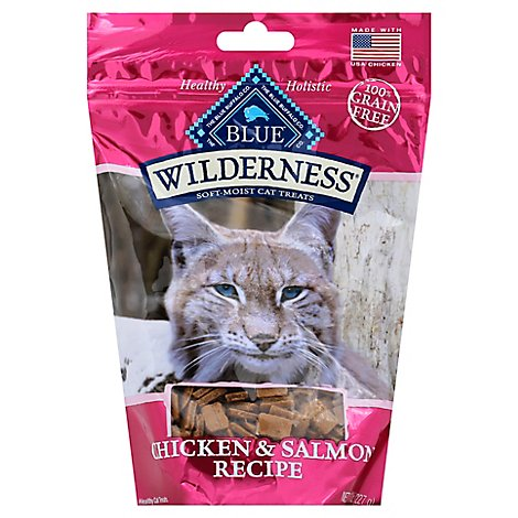 Blue Wilderness Cat Treats Chkn & Salmn - 8 Oz