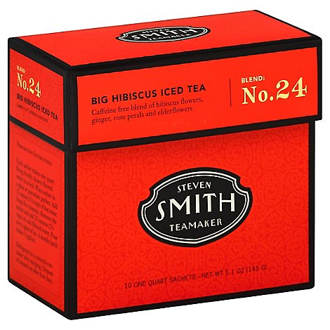Smith Tea Hibiscus Blend Iced - 10 Count