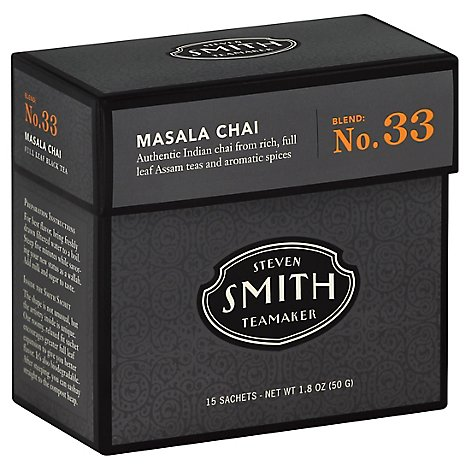 Smith Tea Masala Chai Blk - 15 Count