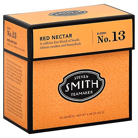 Smith Tea Rooibos Red Nectar - 15 Count
