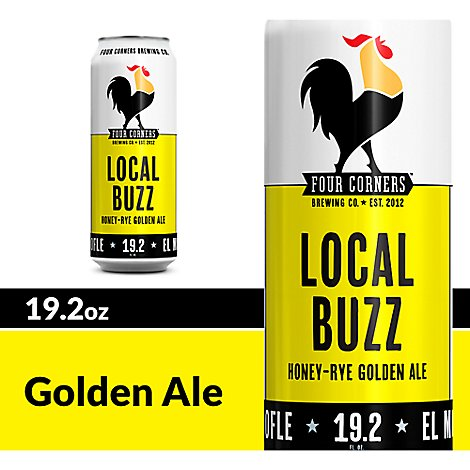 Four Corners Local Buzz In Cans - 19.2 Oz