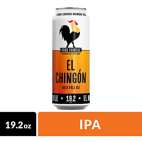 Four Corners El Chingon In Cans - 19.2 Oz