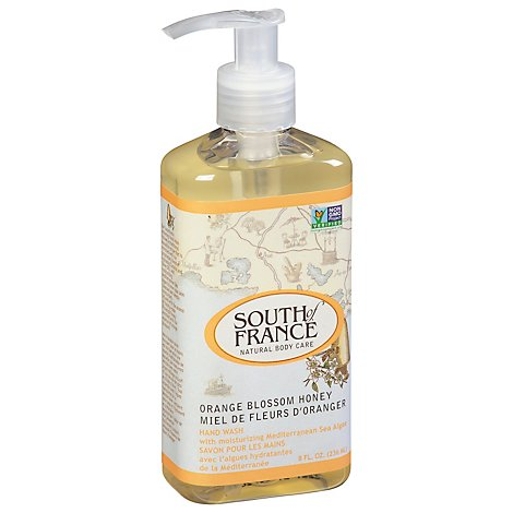 South Of Hand Wash Orng Blosm Hny - 8 Oz