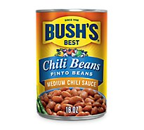 BUSHS BEST Beans Pinto Medium Chili Sauce - 16 Oz