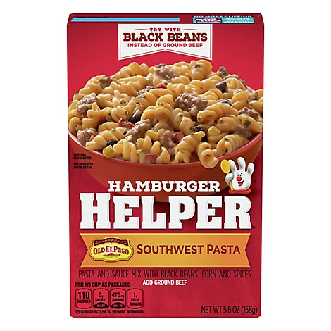 Betty Crocker Hamburger Helper Southwest Pasta - 5.6 Oz