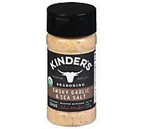 Kinders Organic Roasted Garlic Salt - Each