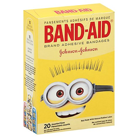 Bandaid Minions - 20 Count