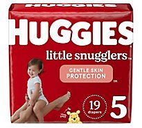 Huggies Little Snugglers Diapers Size 5 - 19 Count