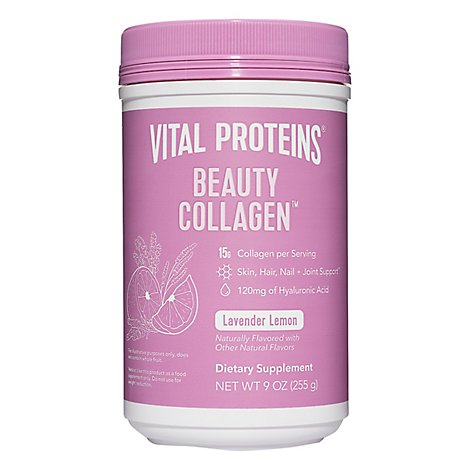 Collagen Beauty Water Lavender Lemon - 10.8 Oz