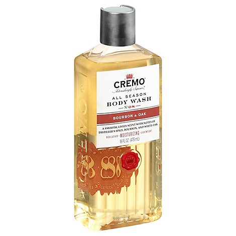 Cremo Bourbon & Oak Body Wash - 16 Fl. Oz.