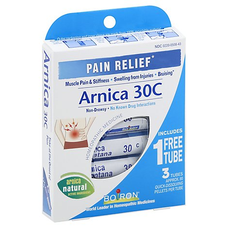 Boiron Arnica 30c Pain Relief - 3 Count