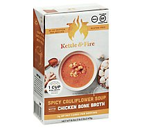 Kettle An Soup Cauliflower Spicy - 16.9 Oz