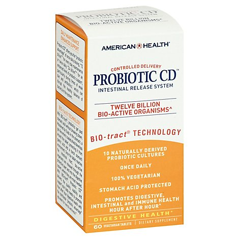 American  Probiotic CD - 60 Count
