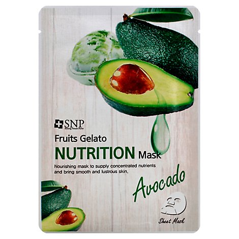 Snp Fruits Gelato Avocado Mask - .84 Fl. Oz.