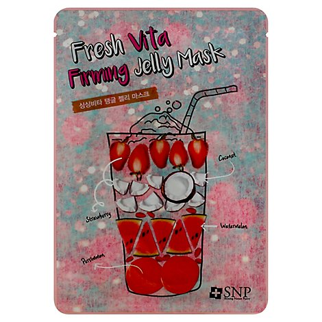 Snp Fresh Vita Firming Jelly Face Mask - 1.11 Fl. Oz.