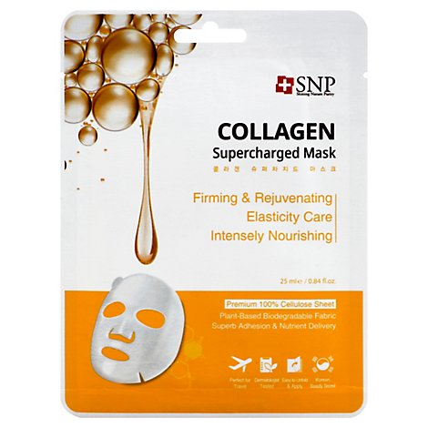 Snp Collagen Supercharged Face Mask - .84 Fl. Oz.