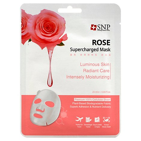 Snp Face Mask Supercharged Rose Water - .84 Fl. Oz.
