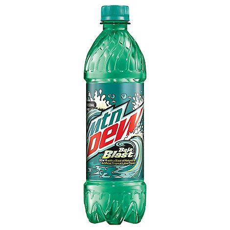 Mountain Dew Soda Baja Blast - 6-16.9 Fl. Oz.