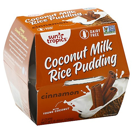 Sun Tropic Coconut/Rice Cinnamon Pudding - 2-4.23 Oz