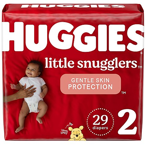 Huggies Little Snugglers Diapers Size 2 Jumbo Pack - 29 Count