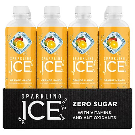 Sparkling Ice Orange Mango Sparkling Water 12-17 fl. oz. Bottles