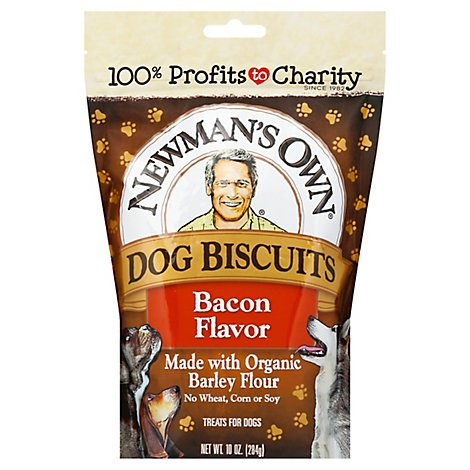 Newmans Own Bacon Dog Biscuits - 10 Oz
