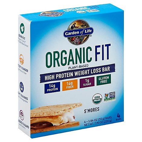 Fit Bar - Smores - 4 Count