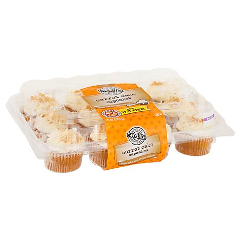 Two-Bite Carrot Cake Premium Cupcakes 12pk - 10 Oz