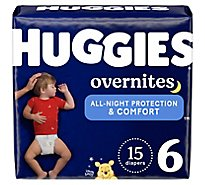 Huggies Overnite Diapers - 15 Count