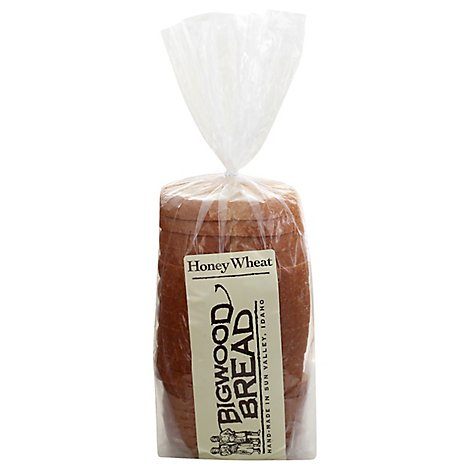 Bigwood Bread Honey Wheat Sliced - 32Oz