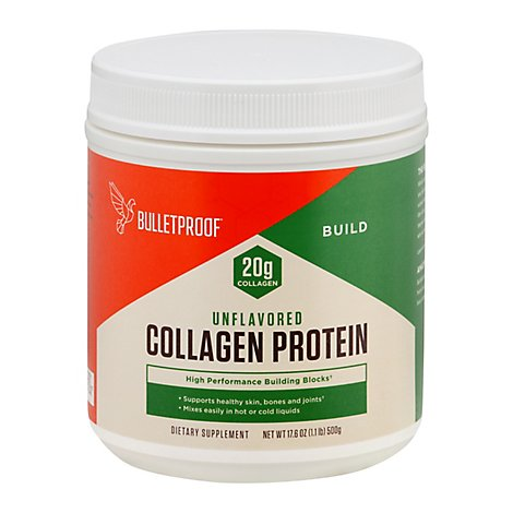 Bulletpro Collagen Protein Powder - 17.6 Oz