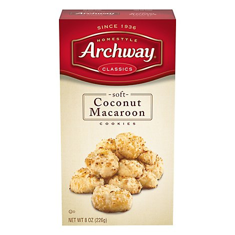 Archway Coconut Macaroon Cookie - 8 Oz