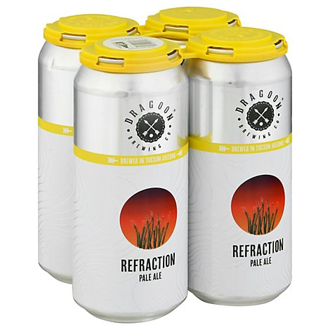Dragoon Refraction Pale Ale 6/4/16 In Cans - 4-16 Fl. Oz.