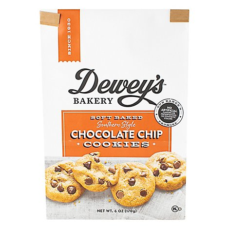 Deweys Bakery Cookies Soft Baked Brown Butter Chocolate Chip - 6 Oz
