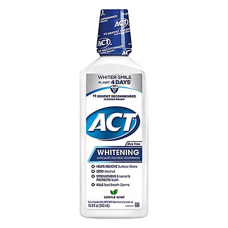 Act Whitening Anticavity Rinse - 16.9 Fl. Oz.