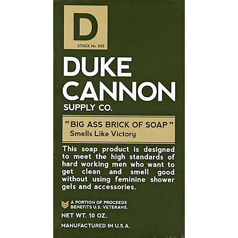 Duke Cannon Big Ass Brick Of Soap Victory - Each