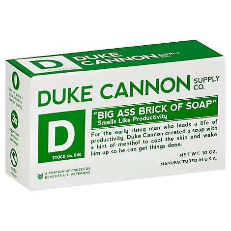 Duke Cannon Big Ass Brick Of Soap Productivity - Each