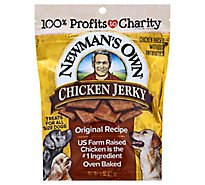 Newmans Own Chicken Recipe Dog Jerky - 5 Oz