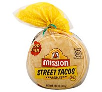 Mission Street Taco Yellow Corn - 24 Count