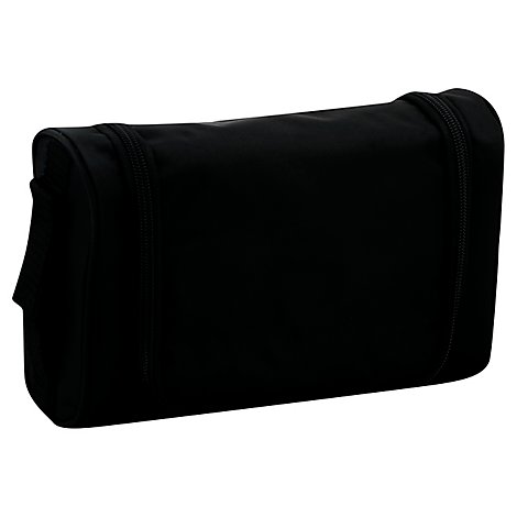 All Blk Mens Hanging Toiletry Kit - Each