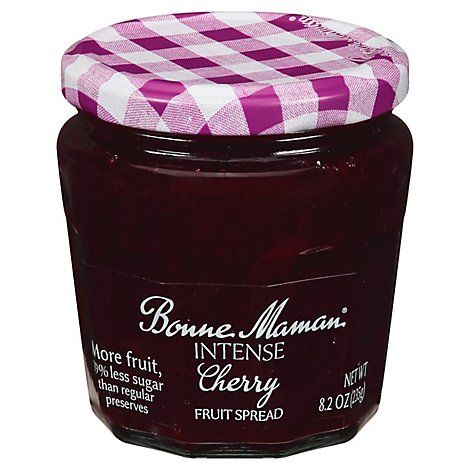 Intense Cherry Fruit Spread - 8.2 Oz