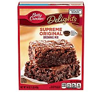 Delights Supreme Brownie Mx Original - 16 Oz