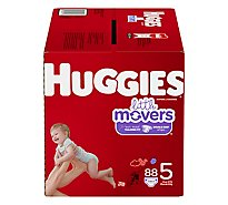Huggies Little Movers Diapers - 88 Count