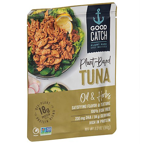 Good Catc Tuna Fish Free Oil & Herb - 3.3 Oz