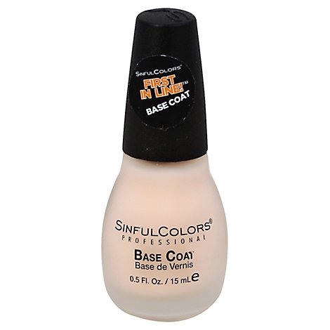 Sinful Colr Frst In Base Coat - 0.47 Oz