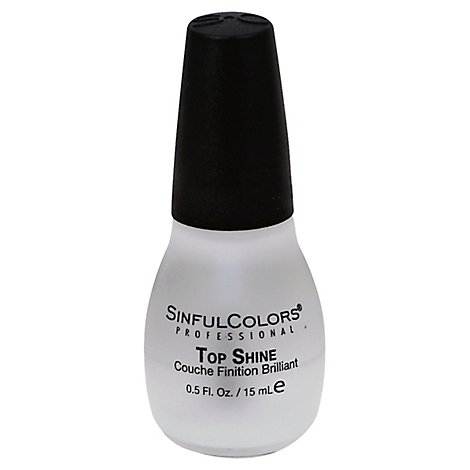Sinful Colors Top Shine - 0.47 Oz