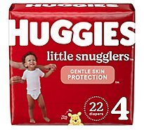 Huggies Little Snugglers Diapers Size 4 - 22 Count