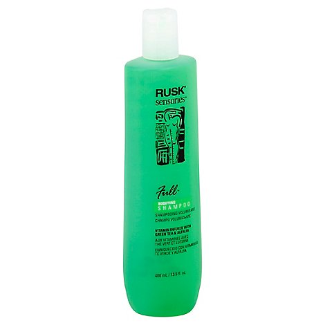 Rusk Full Green Tea Shampoo - 13.5 Oz